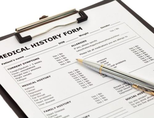 Why medical histories are important in a dental setting